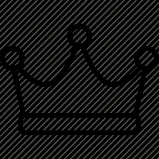crown, emperor, empire, king, leader, royal, royalty icon