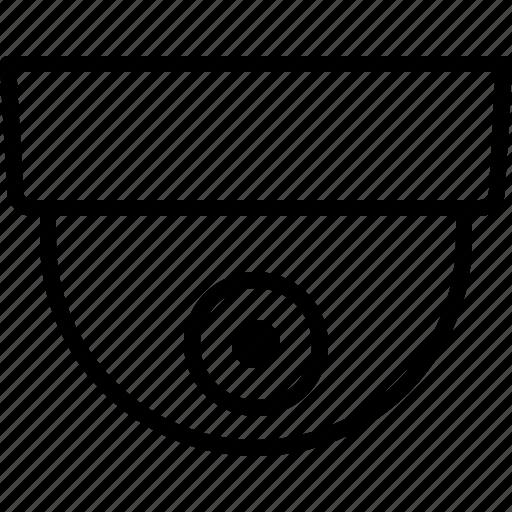 camera, cctv, dome, round, security, surveillance, video icon