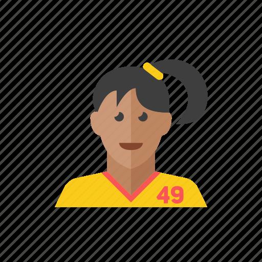 2, woman icon