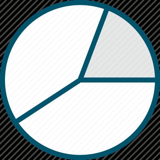 chart, graph, pie, report icon
