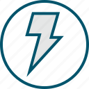 fast, light, lightning, power icon