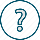 ask, mark, more, question icon