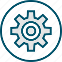 gear, more, option, settings icon