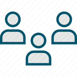 people, person, three, users icon
