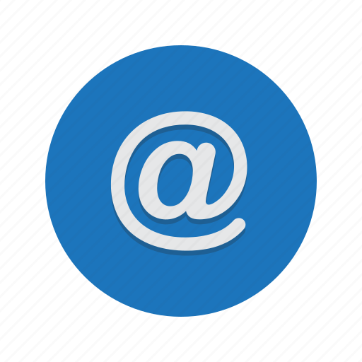 at, email, mail, send icon