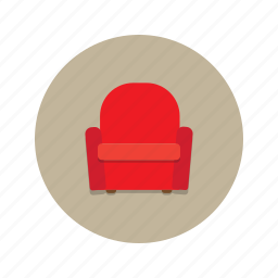armchar, chair, comfort, couch, furniture, seat, sofa icon