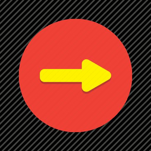 arrow, forward, move, navigate, navigation, next, skip icon