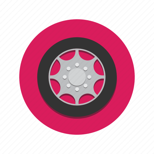 car, drive, driver, driving, tire, tyre, wheel icon