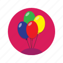 baloon, fun, inflatable, party icon