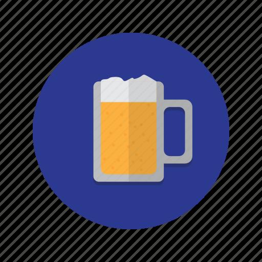 alcohol, bar, mug, pint, pub, stein icon