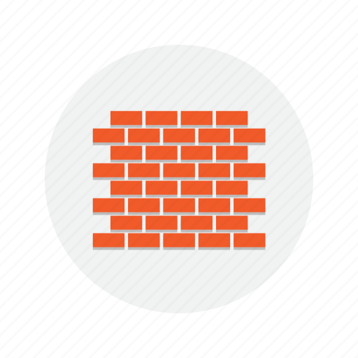 brick, build, building, concrete, construction, wall icon