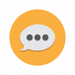 conversation, im, message, sms, speech, talk, text icon