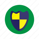 emblem, shield, trophy icon
