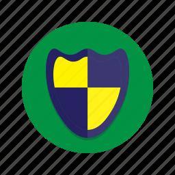 emblem, shield, trophy icon