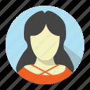 avatar, girl, person, profile, sexy, woman icon