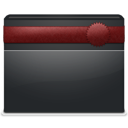 folder, ribbon icon