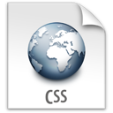 css, file, z icon