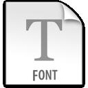 z, file, font