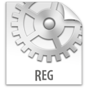 file, reg, z icon