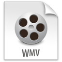 file, wmv, z icon