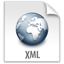 file, xml, z icon