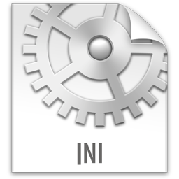 file, ini, z icon