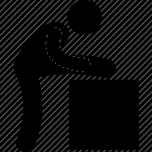 back, body, exercise, gym, leg, stretching, workout icon