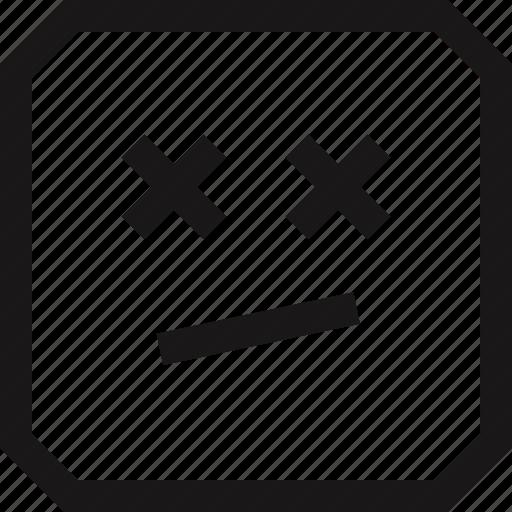 drugged, fuck, wtf icon