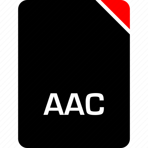 aac, file, name icon