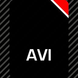 avi, file, name icon