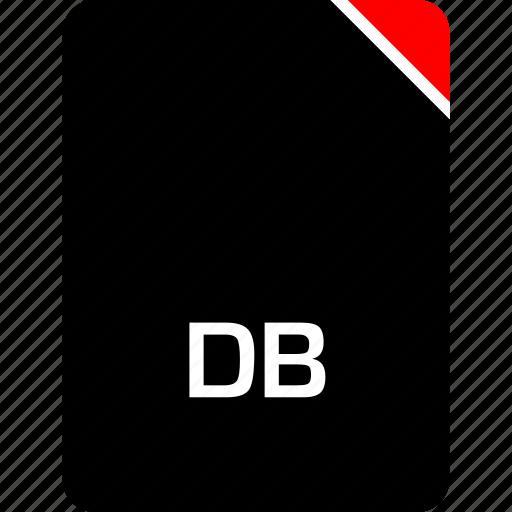 db, file, name icon