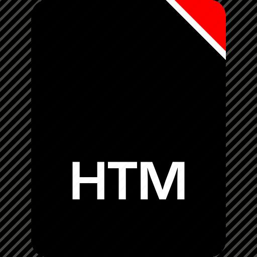 file, htm, name icon