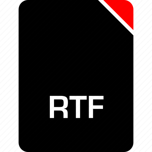 file, name, rtf icon