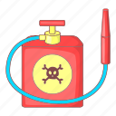 insecticide, spray, bottle, sign