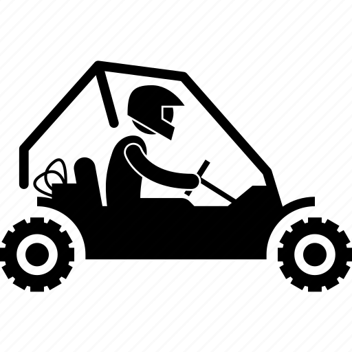 adventure, buggy, four-wheeled, outdoor, sport, tough, vehicle icon