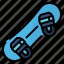 snowboard, extreme, snowboarding, sport icon