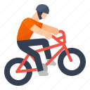 bicycle, bmx, extreme, racing