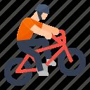 bicycle, bmx, extreme, racing