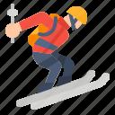extreme, ski, skiing, sport