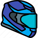 extreme, helmet, motorbike, sport, sports