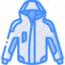extreme, jacket, ski, sport, sports icon