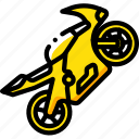 bike, extreme, sport, sports, super icon