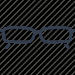 blind, eyeglasses, frame, glass, glasses, lens, optical, style, wear icon