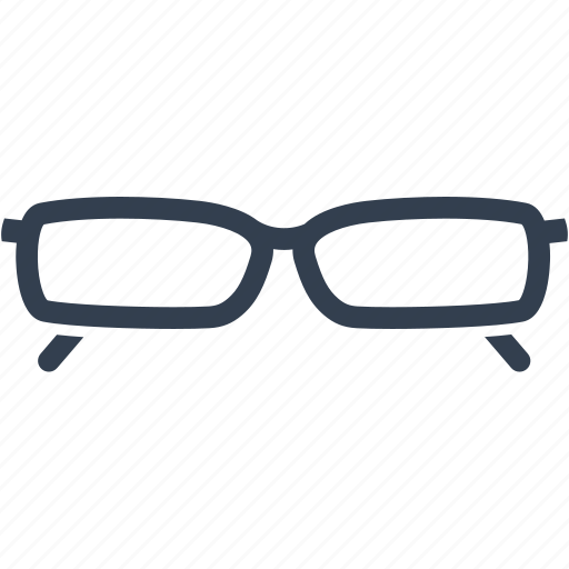 blind, eyeglasses, frame, glass, glasses, lens, optical, style, wear icon
