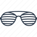 blind, lens, eyeglasses, eye, frame, accessories, glamour, glass, optical, design, wear, striped, vision, glasses icon