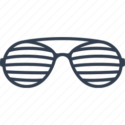 accessories, blind, design, eye, eyeglasses, frame, glamour, glass, glasses, lens, optical, striped, vision, wear icon