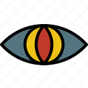 animal, eye, face, vision icon
