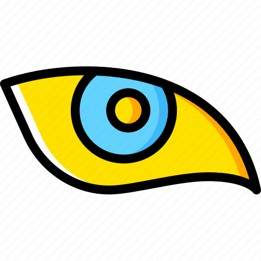 Animal, eye, face, vision icon - Download on Iconfinder
