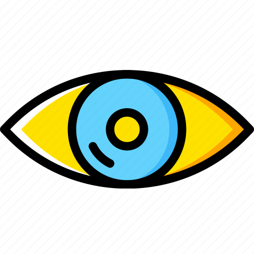 Eye, human, vision, face icon - Download on Iconfinder
