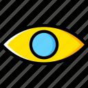 eye, human, vision, face